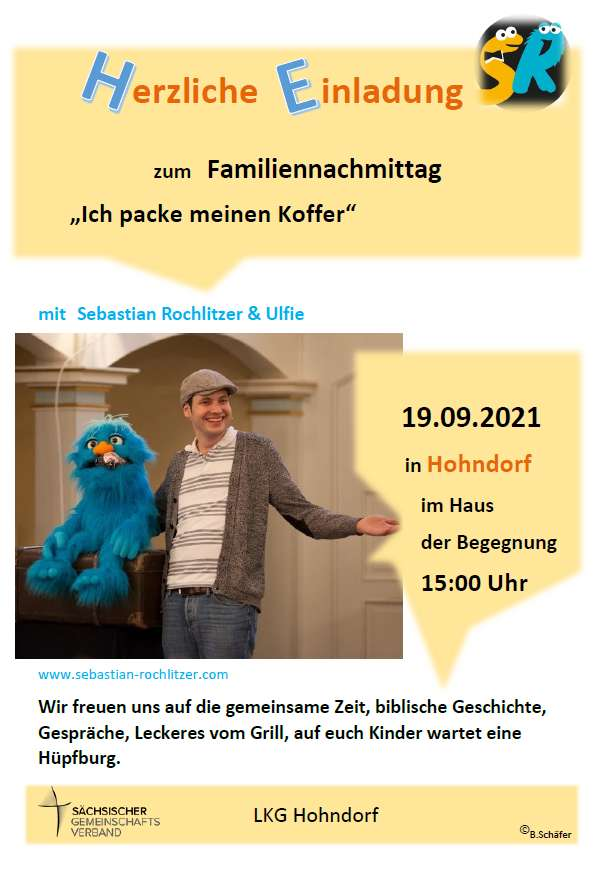 You are currently viewing Familiennachmittag Hohndorf 2021